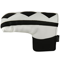 Hot-Z  L-Shape Putter Cover - Two Tone Black/White
