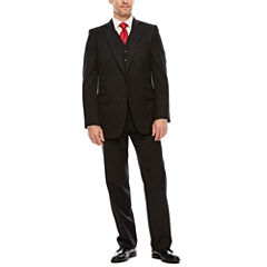 Stafford Travel Wool Blend Suit Separates-Classic Fit