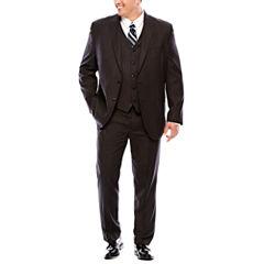 JF J.Ferrar® Black Nailhead Suit Separates - Big & Tall