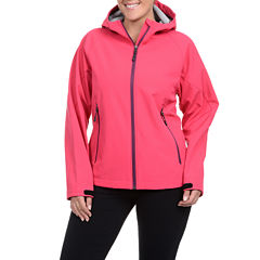 Champion® Four-Way Stretch Hooded Soft Shell Jacket - Plus
