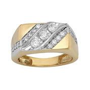 Mens 1 CT. T.W. Diamond Ring