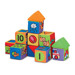 Melissa & Doug® Match & Build Blocks