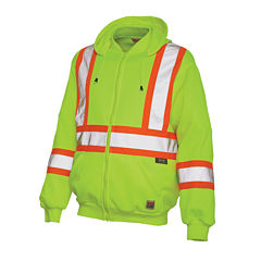 Work King High Visibility Hoodie Jacket- Big and Tall