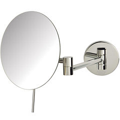 Sharper Image® 5X Wall-Mount Makeup Mirror