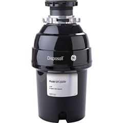 GE® 1 HP Continuous-Feed Garbage Disposer - Non-Corded