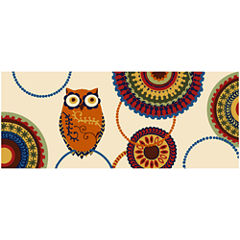 Nourison® Owl Washable Runner Rug