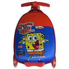 Sponge Bob Scootie Krabby Krispies Spongebob Hardside Luggage