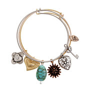 Sandra Magsamen Womens Blue Bangle Bracelet