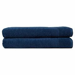 Softesse Kushlon Textured 2-pc. Bathsheet Towel Set