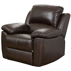 Paisley Leather Reclining Recliner