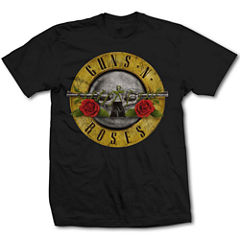 Guns N Roses Bullet Graphic T-Shirt