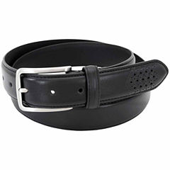 Stacy Adams Burnished Leather Solid Belt