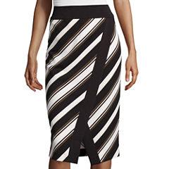 Worthington® Stripe Envelope Pencil Skirt