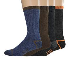 Dickies® Mens 4-pk. Thermal Crew Socks