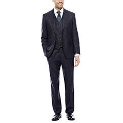 Steve Harvey® Charcoal Check Suit Separates