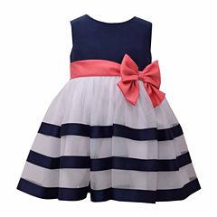 Bonnie Jean Sleeveless A-Line Dress - Baby Girls