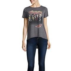 Aerosmith Drapey Tunic T-Shirt- Juniors