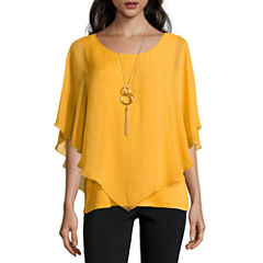 Alyx Short Sleeve Round Neck Blouse
