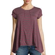Short-Sleeve Sharkbite-Hem T-Shirt