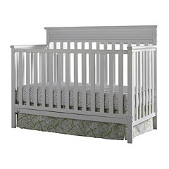 Fisher-Price Newbury Convertible Crib - White