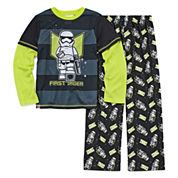 Boys Long Sleeve Star Wars Kids Pajama Set-Big Kid