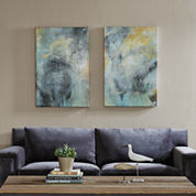 Madison Park Tranquality With Brush Gel Coat 2-pc. Canvas Art
