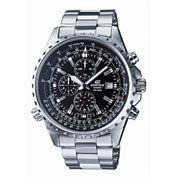 Casio® Edifice Mens Stainless Steel Chronograph Watch EF527D-1AV