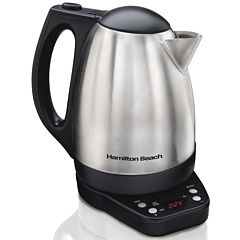 Hamilton Beach® 1.7-Liter Programmable Electric Kettle