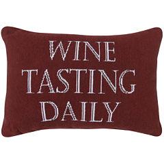 Park B. Smith® Wine Tasting Daily Decorative Pillow