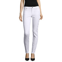Crave Skinny Fit Ankle Pants-Juniors