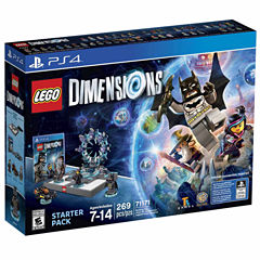 Lego Dims Starter Pack Video Game-Playstation 4