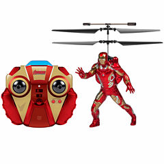 Marvel Comics Licensed Avengers: Age Of Ultron Iron Man 2CH IR RC Helicopter