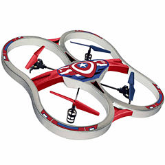 Marvel Licensed Captain America 2.4GHz 4.5CH RC Super Drone