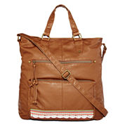 T-Shirt & Jeans™ Washed Front Ribbon Tote