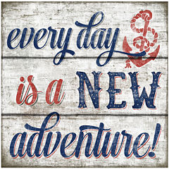 Everyday is a New Adventure Canvas Wall Art