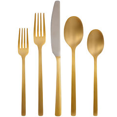 Cambridge® Everyday Beacon 20-pc. Gold-Plated Flatware Set
