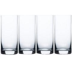 Mikasa® Laura Set of 4 Crystal Highball Glasses