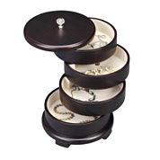 Java Swivel Jewelry Box