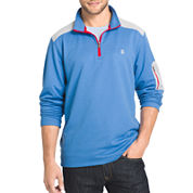 IZOD® Long-Sleeve Quarter-Zip Performance Pullover Shirt