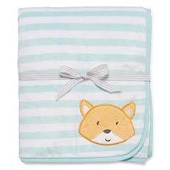 Carter's® Striped Fox Sherpa Blanket