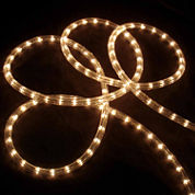 18' Clear Indoor/Outdoor Christmas Rope Lights with 1