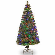 National Tree Co 6 Feet Evergreen Pre-Lit Christmas Tree