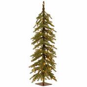 National Tree Co. 4 Feet Nordic Spruce Cedar Pre-Lit Christmas Tree