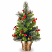 National Tree Co. 2 Feet Crestwood Spruce Christmas Tree