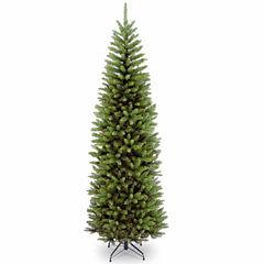 National Tree Co. 7 1/2 Foot Kingswood Fir Hinged Pencil Christmas Tree