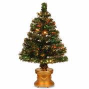 National Tree Co. 2 Foot Radiance Pre-Lit Christmas Tree