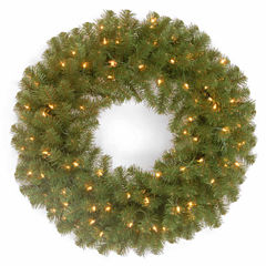 National Tree Co. North Valley Spruce Indoor/Outdoor Christmas Wreath