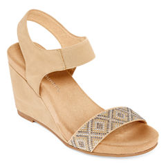 CL by Laundry Tafee Womens Wedge Sandals