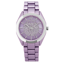 So & Co Womens Purple Bracelet Watch-Jp15891