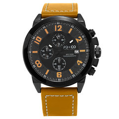 So & Co Mens Brown Strap Watch-Jp15942
